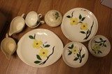 Blue Ridge Ceramics Lot - 5 Plates 9 3/8
