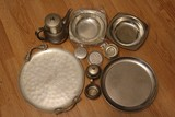 Silverplate Lot - Berry Platter, Teapots, Creamer, Sugar, Etc.