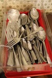 Oneida Cutlery Lot - Knives, Forks, Spoon, Serrated Spoons, Etc.
