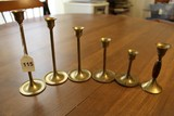 Brass Slim-Neck Candle Holders