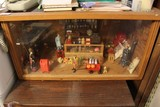 Whimsical 30's Country Store Scene/Diorama in Wooden Box