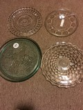 4 Glass Platter Plates - Coca Cola 13