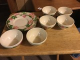 Lot - Franciscan Earthenware Pink Floral Motif