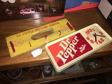 Lot - Dr. Pepper Bottling Company Wood Wall Hanger