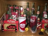 Dr. Pepper Collectibles Lot - Vintage Bottles