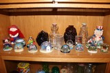 Shelf Lot - Snowglobes Garden City, Alabama, Florida