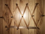 Wooden Coat Hanger Wall Hanging