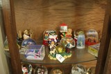 Lot - Snowglobes, Christmas Motif, Looney Tunes, Religious, Etc.