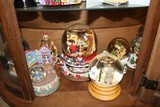 Lot - Snowglobes, Christmas Motif, Etc.