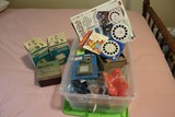 Lot - Vintage Viewfinders Disney, 2 Sawyers Discovery Channel w/ Slides