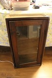 Vintage Solid Wood 3-Tier Wall Mount Cabinet/Shelving