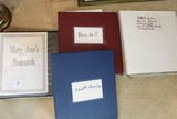 4 Folders w/ Vintage Post Cards, Presidential, Football, Etc.
