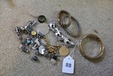 Lot - Misc. Bangles, Bracelets, Etc. w/ Various Designs