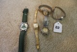 Lot - Watches, Seiko, Hamilton, Sergio Valentino, Citizen