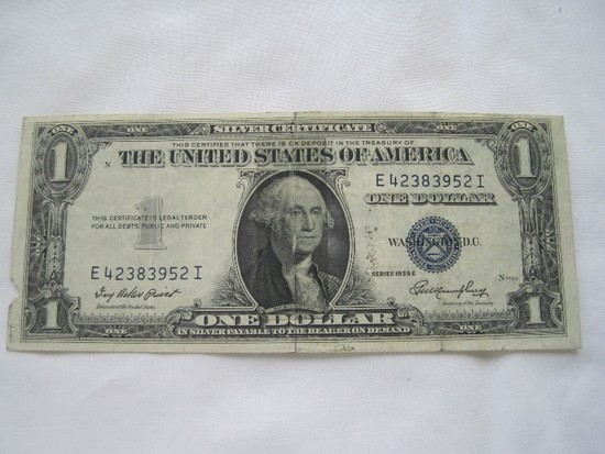 Rare Old Silver Certificate 19... Auctions Online | Proxibid
