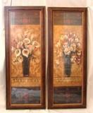 Set of Flower Artwork