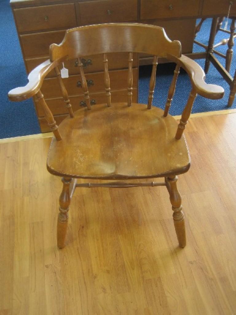 Stuart Rockport Maple Captain S Chair