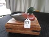 Duck Design Ceramic Trinket Box