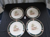 Keltcraft by Noritake Pheasants Motif 4 Plates
