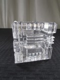 Marquis by Waterford Cut/Ridged Crystal Glass Trinket Dish