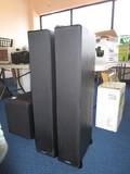 Pair - Polk Audio Model TSi400 Black Standing Speakers