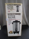 West Bend 12-42 Cup Party Park w/ Twist Lock Center in Box