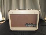 Epiphone Studio Acoustic 15C 28 Watts Speaker Serial No.160300133 Cream Case