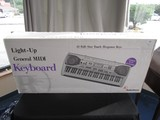 RadioShack Light-Up General Midi Keyboard LK-1500 in Box