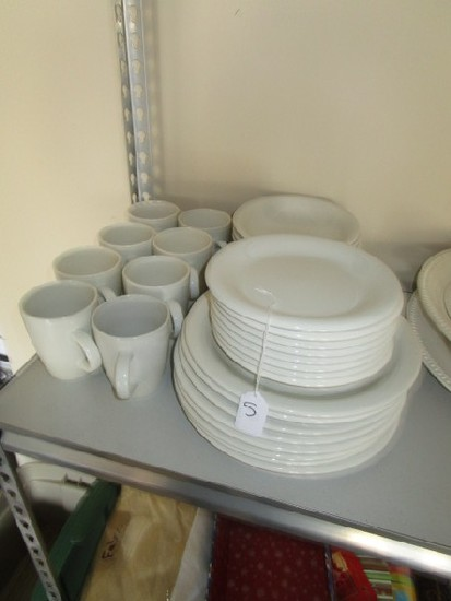 Cream Pier 1 Stoneware Lot