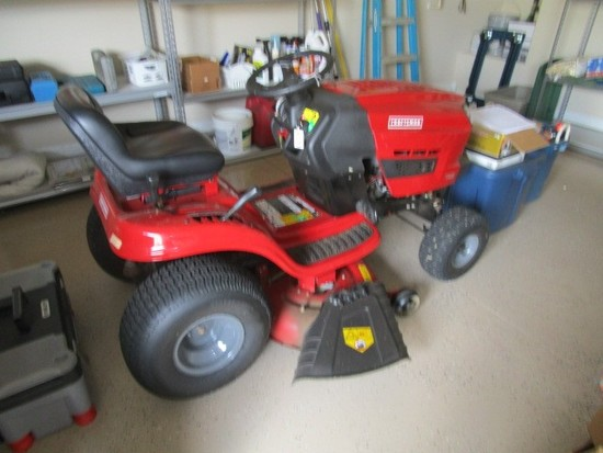 "Craftsman T1400 Red Riding Lawn Mower 42"" Blade"