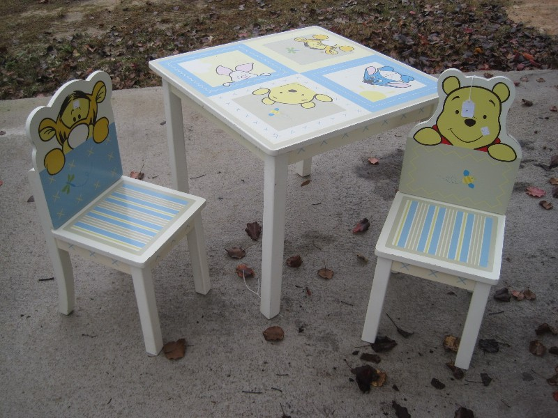 Fantastic Kids Line Disney Based Winnie The Pooh Childs Table W Andrewgaddart Wooden Chair Designs For Living Room Andrewgaddartcom