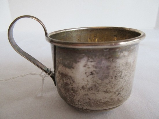 Manchester Silver Co. Sterling Handled Baby Cup(+-46.5G)