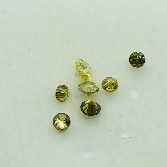 Yellow Diamond 0.25ct