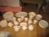 Pflatzgraff Ceramic Floral/Scalloped Rim Lot