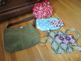 Lot - Misc. Bags, Tote Bags, Purses, Various Designs/Patterns