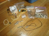 Lot - Misc. Costume Jewelry, Necklaces, Pins, Bracelets, Ring, Etc.