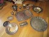 Silverplate Lot - Ceramics, Trinket Dishes, Butter Dishes 18
