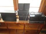 Pioneer Sound System Radio/CD Player w/ 4 Speakers