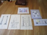 Lighthouse Décor Lot - Sketched Lighthouses in Pockets