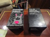 Lot - Cards Against Humanity & Disturbed Friends