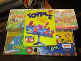 Lot - Kids Games, Topple, Goodnight Moon, Candyland, Pie Face, Spinatask, Etc.