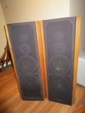 Infinity Pair - Standing Speakers Wood Frame
