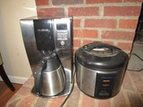 Mr. Coffee Coffee Maker w/ Pot, Black & Decker Food Warmer