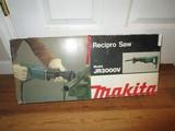Makita Reciprocal Saw Model JR3000V in Box/Case