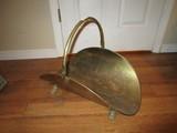 Brass Metal Basket w/ Handle