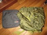 Large Green Travel/Hiking Bag & STM Blue Satchel Bag