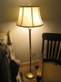 Brass Column/Spindle Design Torchiere Lamp 57
