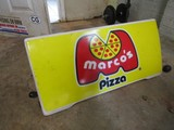 Marcos Pizza Electric Sign