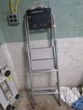 2 Step Metal Stepladder