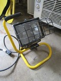 Yellow Metal Work/Flood Light